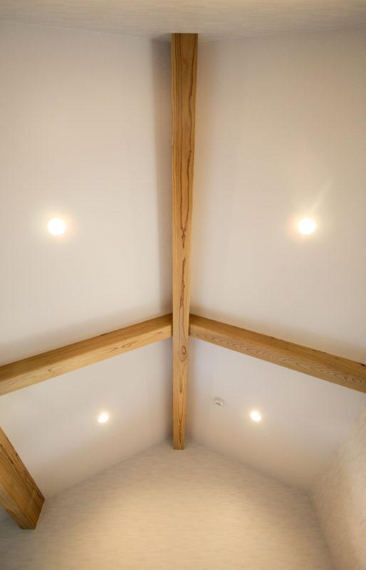 2F部屋 天井